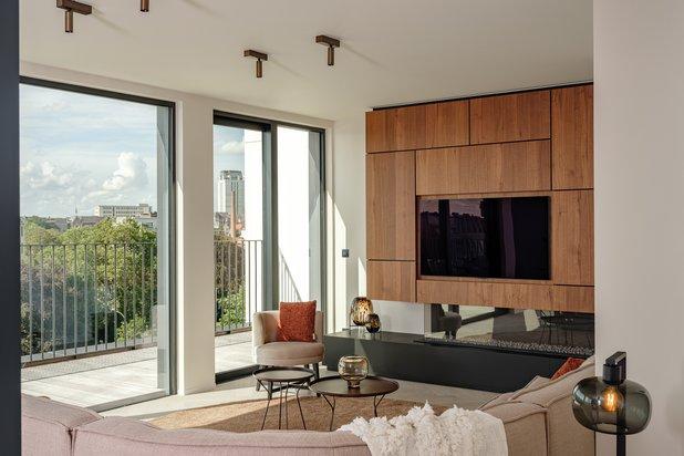 Te koop Exclusieve nieuwbouw penthouse van 165 m² met 3 slaapkamers, 2 badkamers en 27 m²terrassen.