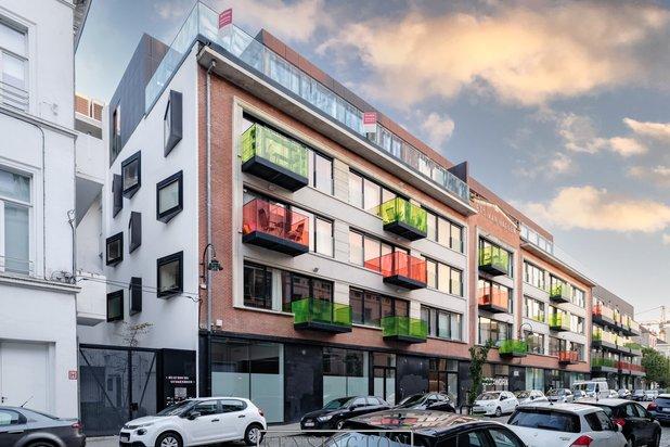 Exclusieve penthouse van 212 m² met 43 m² terras te Brussel-centrum.