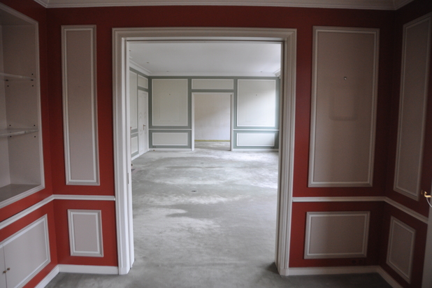 Appartement de style parisien de 300 m² situé au 4ème étage d'un immeuble prestigieux des années 1930