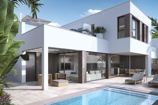 Knap gelegen luxevilla's op 50m van het strand